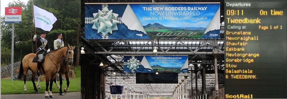 Borders Railway opens on 6th September 2015